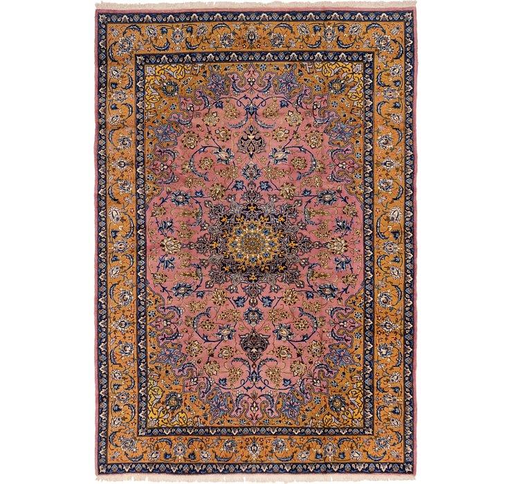 8' 9 x 12' 7 Isfahan Persian Rug