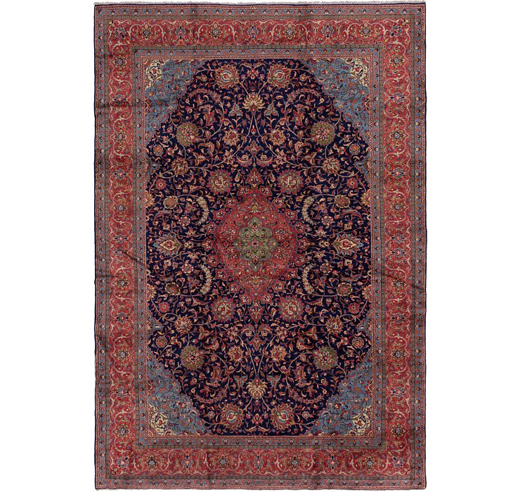 HandKnotted 9' 9 x 14' 4 Sarough Persian Rug