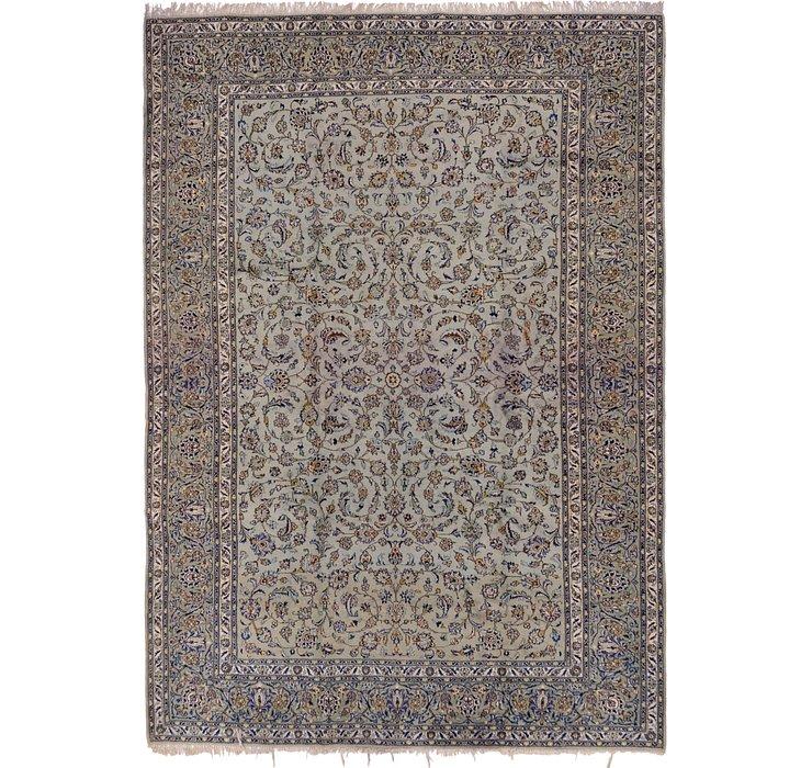 9' 9 x 13' 4 Kashan Persian Rug