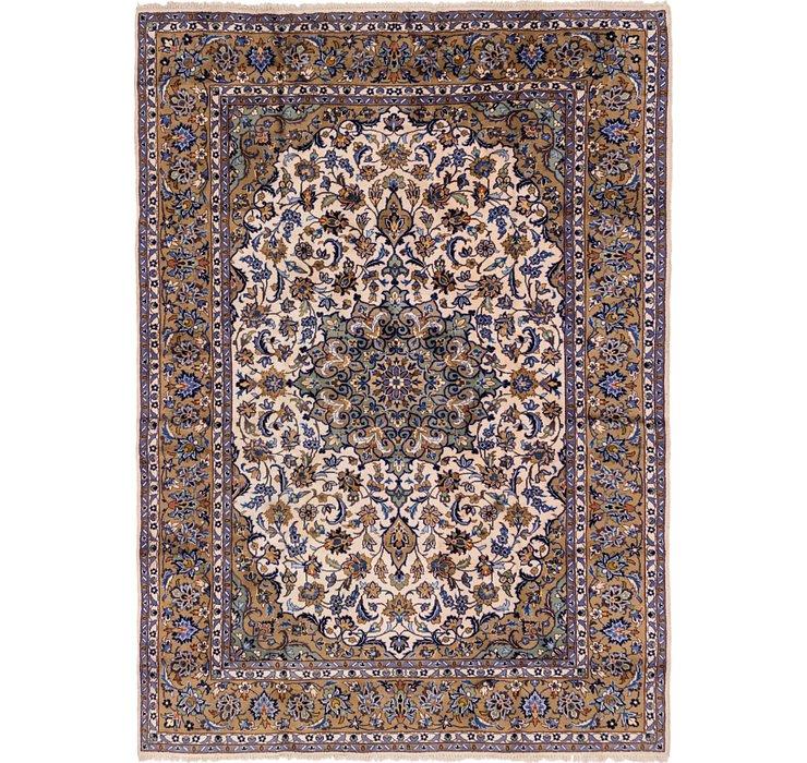 7' 8 x 10' 8 Kashan Persian Rug