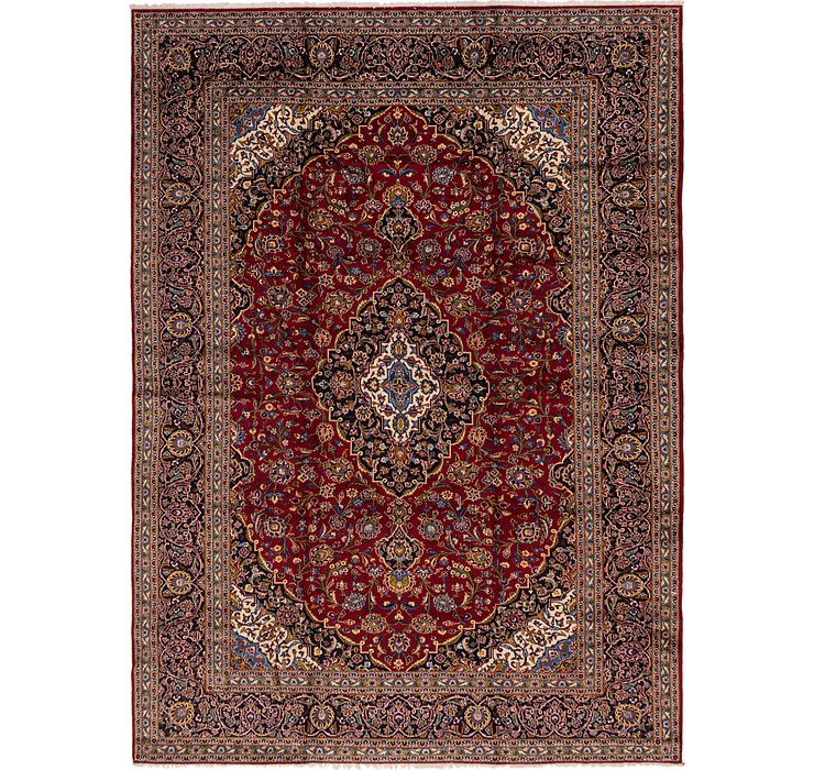 HandKnotted 9' 10 x 13' 2 Kashan Persian Rug