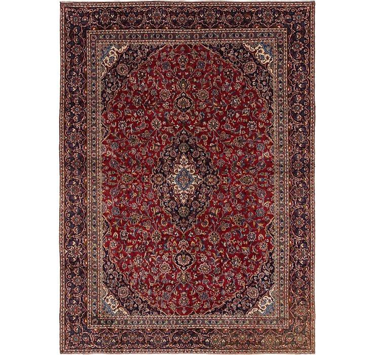 HandKnotted 8' 9 x 12' Mashad Persian Rug