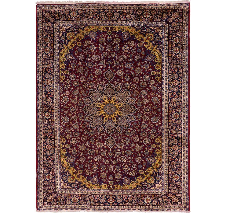 9' 8 x 12' 10 Isfahan Persian Rug