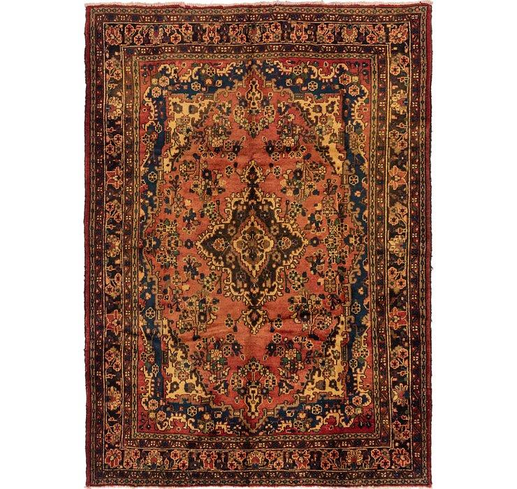 7' 2 x 9' 9 Hamedan Persian Rug