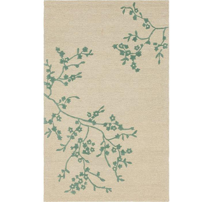 5' x 8' Floral Agra Rug