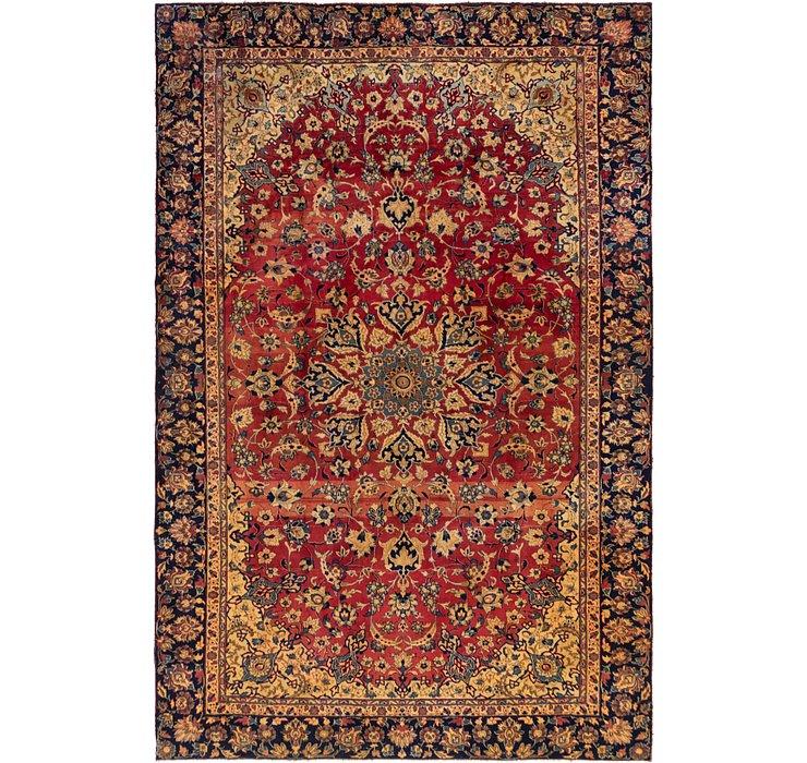 8' 7 x 12' 6 Isfahan Persian Rug