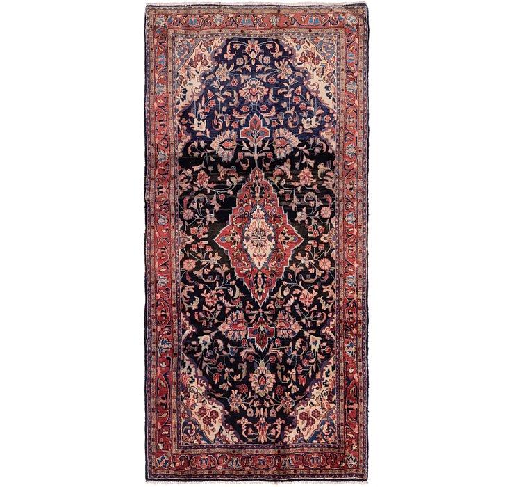 4' 8 x 10' 7 Mahal Persian Runner Rug