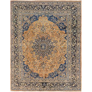 Link to 297cm x 380cm Mashad Persian Rug page