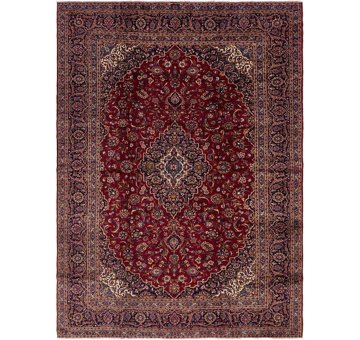 9' 6 x 13' 5 Kashan Persian Rug