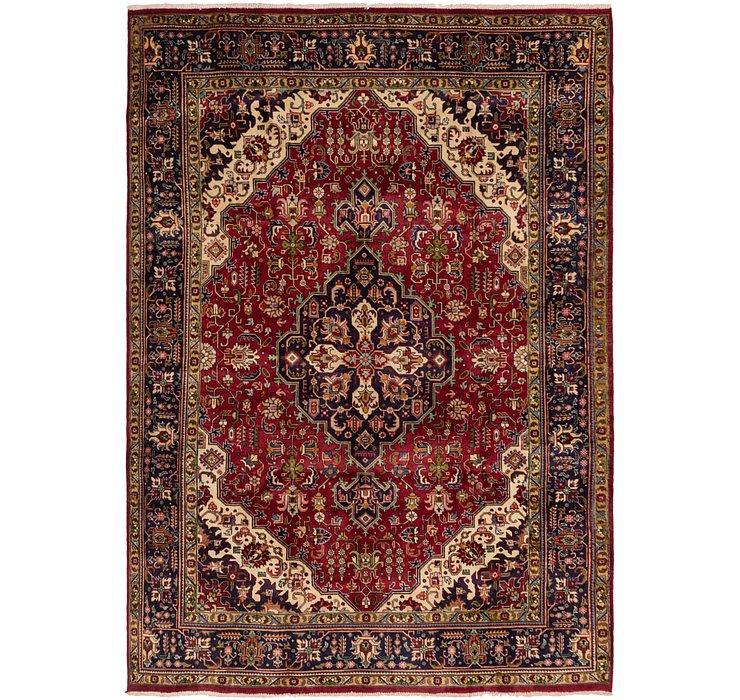 8' x 11' 3 Tabriz Persian Rug