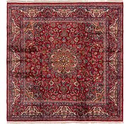 Link to 9' 8 x 9' 8 Mashad Persian Square Rug
