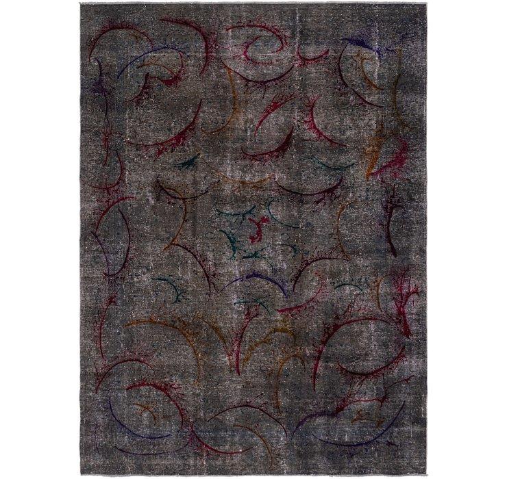 270cm x 370cm Ultra Vintage Persian Rug
