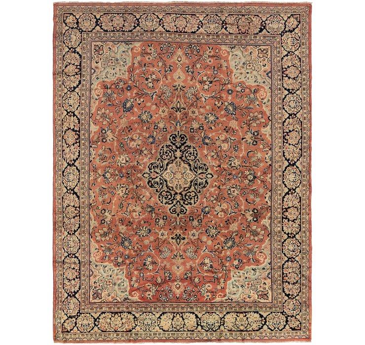 10' 6 x 14' Meshkabad Persian Rug