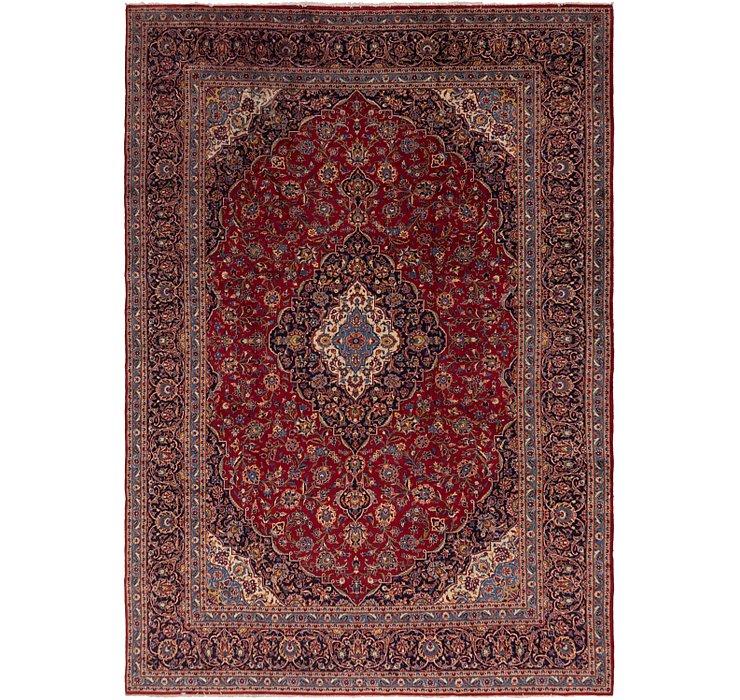 10' x 14' 3 Kashan Persian Rug