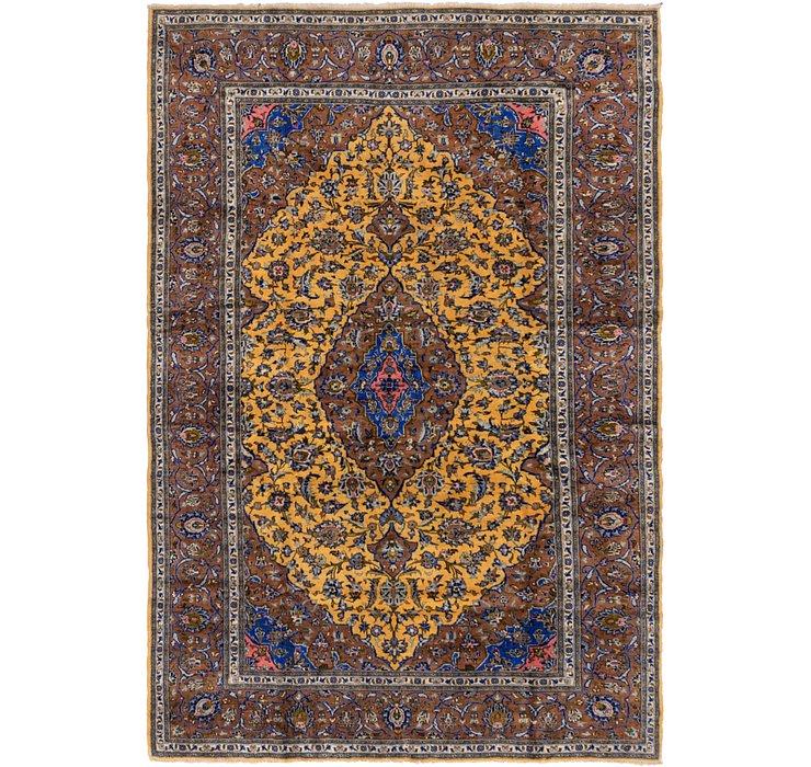 213cm x 315cm Kashan Persian Rug