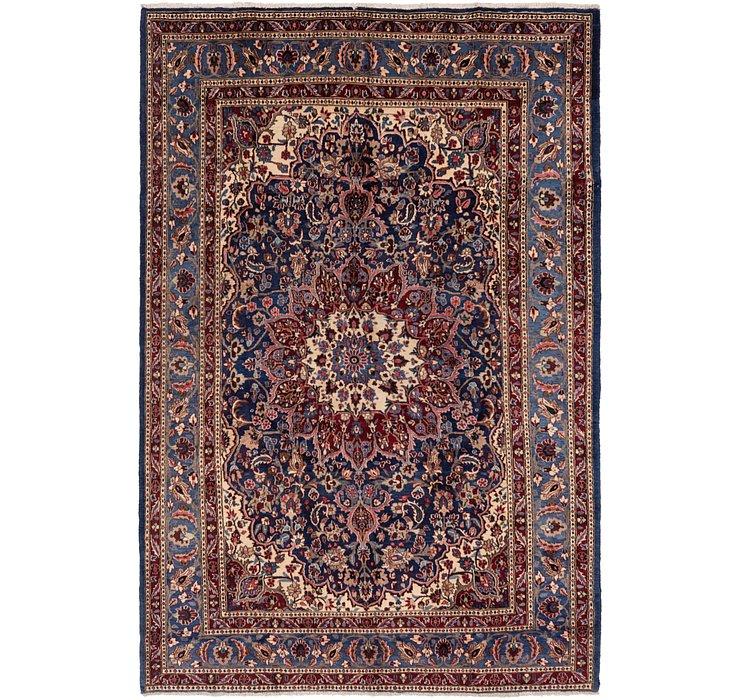 7' x 10' 3 Isfahan Persian Rug