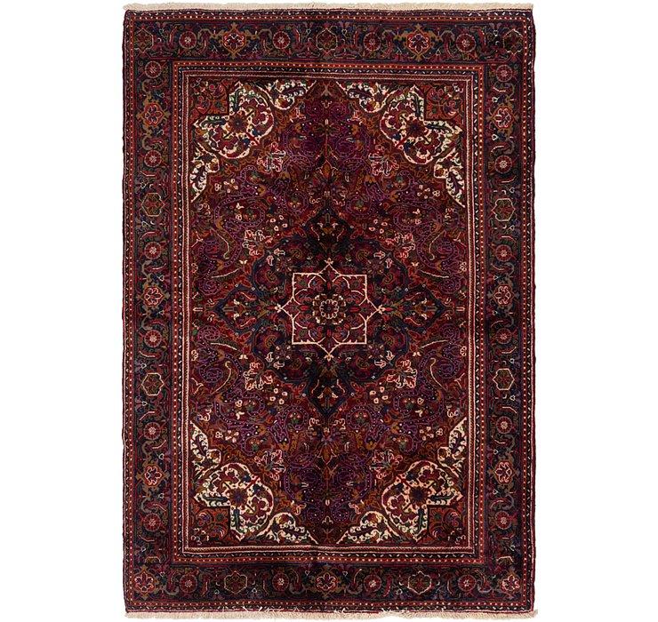 6' 8 x 9' 10 Heriz Persian Rug