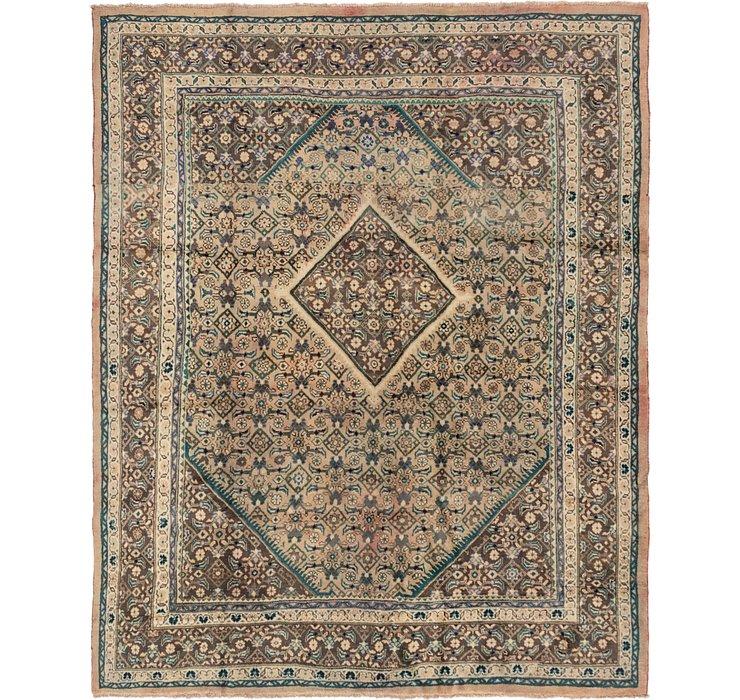 9' x 11' 7 Farahan Persian Rug