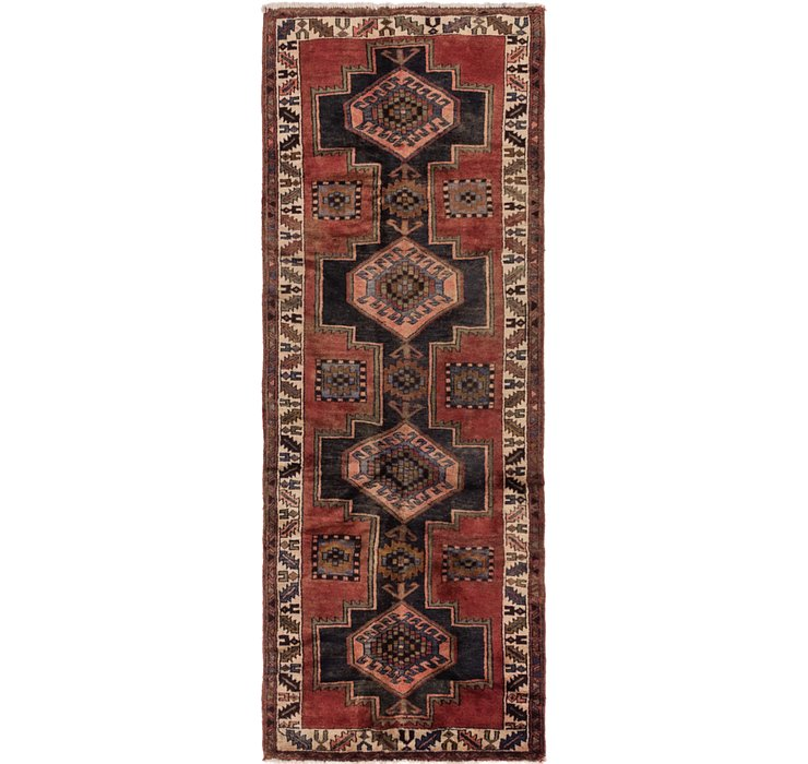 107cm x 295cm Shiraz Persian Runner Rug