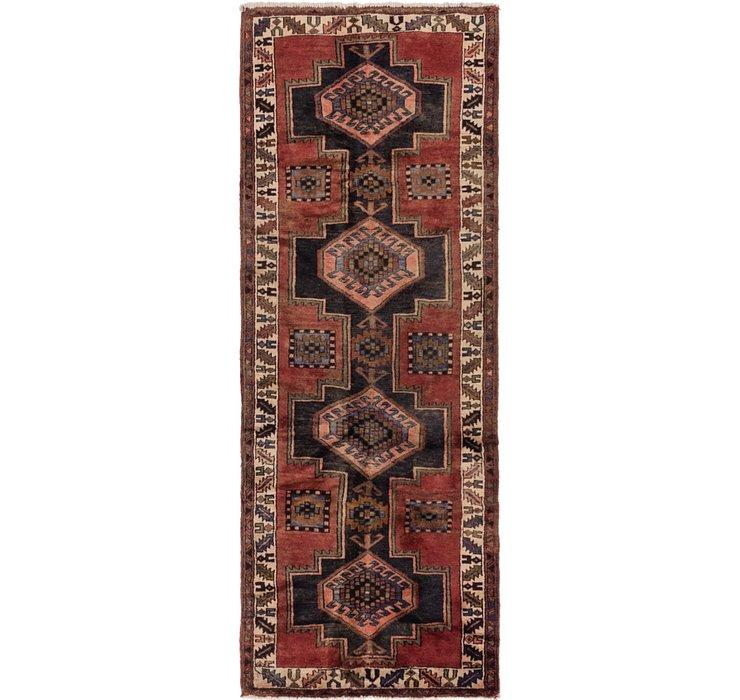 3' 6 x 9' 8 Shiraz Persian Runner Rug