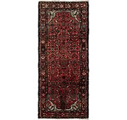 Link to 105cm x 245cm Hossainabad Persian Runner Rug