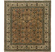 Link to 8' 5 x 9' 3 Tabriz Persian Square Rug