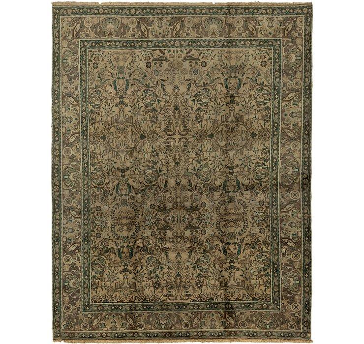 9' 7 x 12' 3 Tabriz Persian Rug