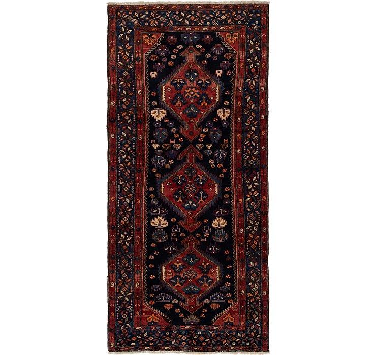 4' 5 x 9' 3 Shahsavand Persian Runn...