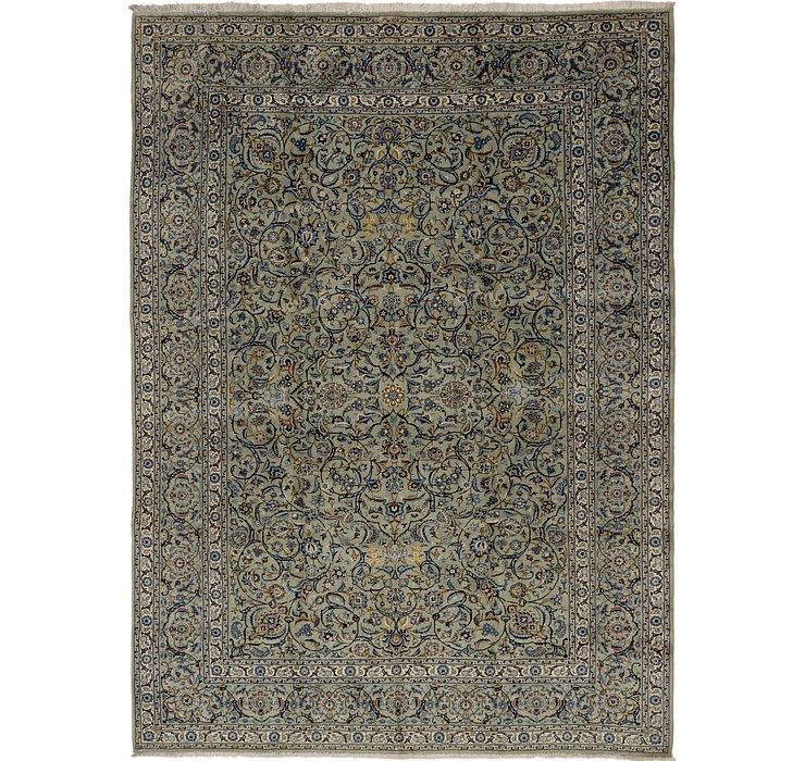 9' x 12' 3 Kashan Persian Rug