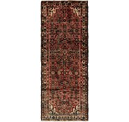 Link to 3' 6 x 9' Hossainabad Persian Runner Rug