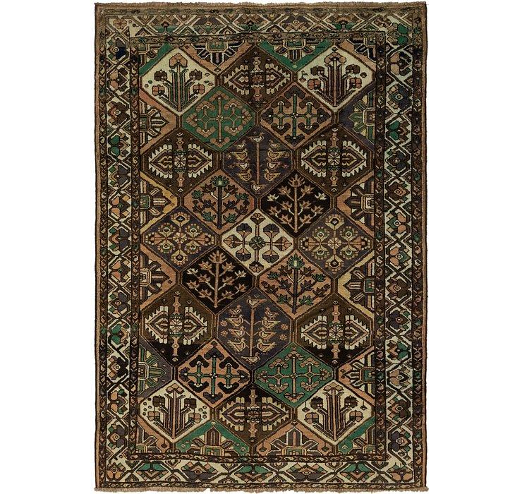 7' 2 x 10' 4 Bakhtiar Persian Rug