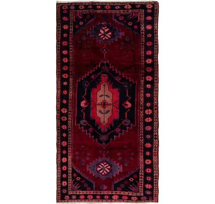 152cm x 295cm Shiraz Persian Runner Rug