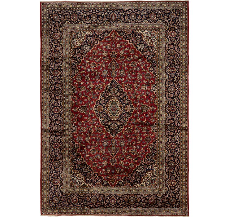 HandKnotted 8' x 11' 6 Kashan Persian Rug
