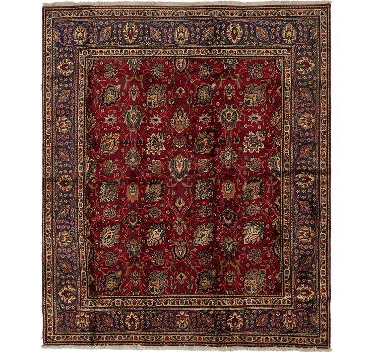 HandKnotted 8' x 9' 5 Tabriz Persian Rug