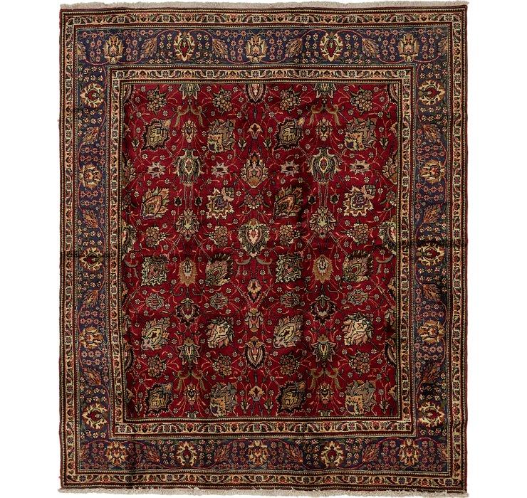 8' x 9' 5 Tabriz Persian Rug