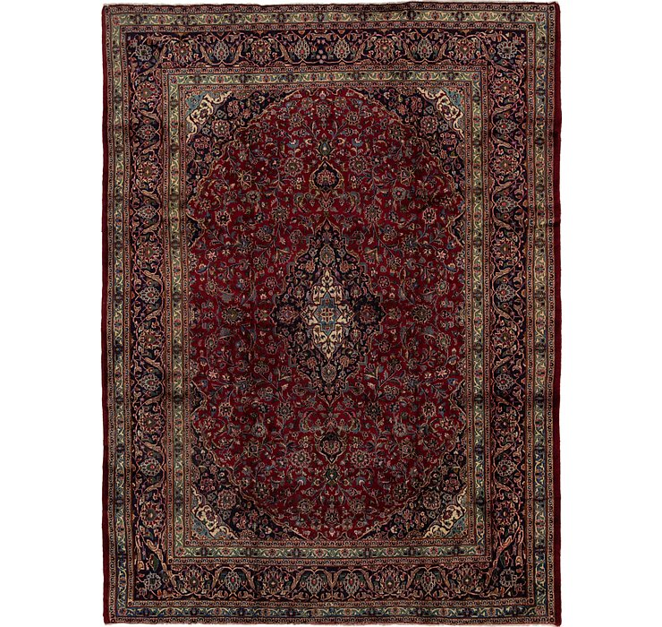 HandKnotted 9' 7 x 12' 9 Mashad Persian Rug