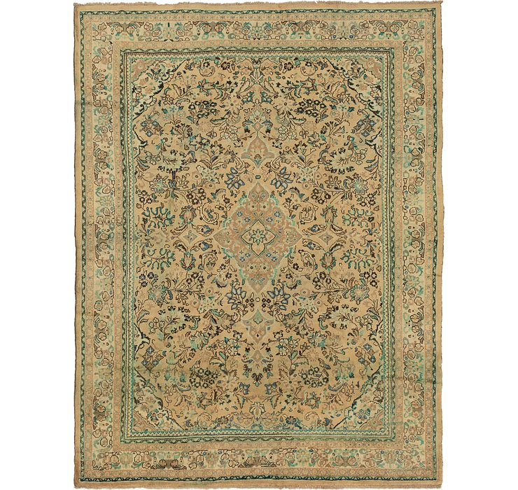 HandKnotted 9' 8 x 12' 7 Mahal Persian Rug