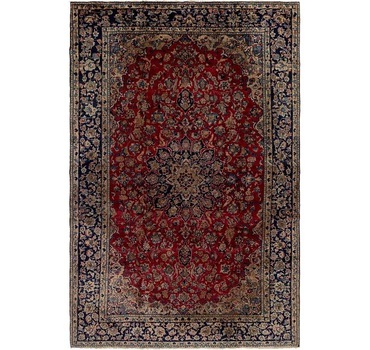 8' 7 x 13' 2 Isfahan Persian Rug