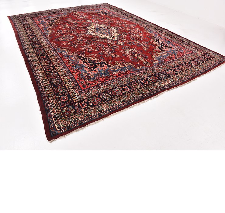 HandKnotted 10' 4 x 13' 4 Shahrbaft Persian Rug