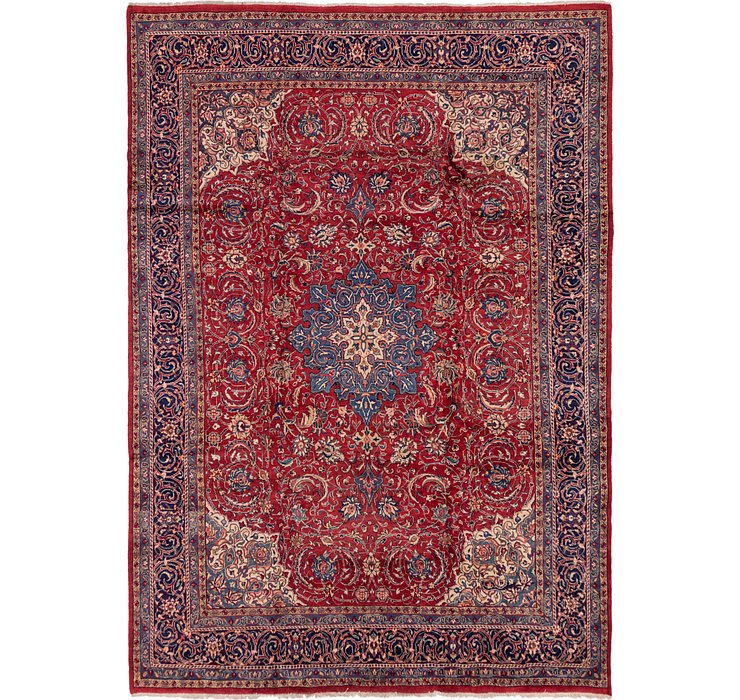 9' 7 x 13' 7 Isfahan Persian Rug