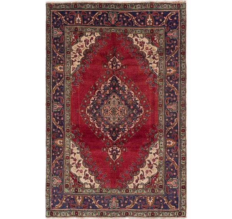 6' 6 x 10' Tabriz Persian Rug