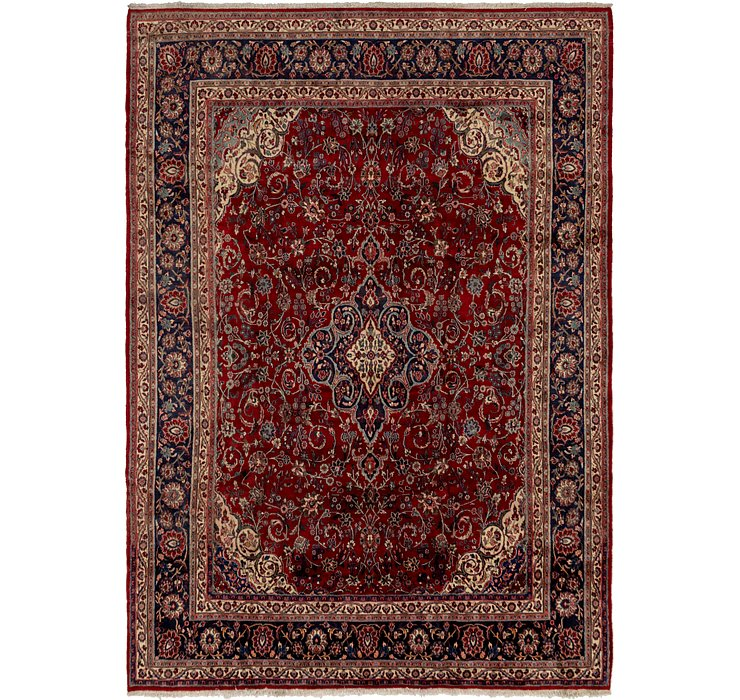 HandKnotted 9' x 12' 5 Shahrbaft Persian Rug