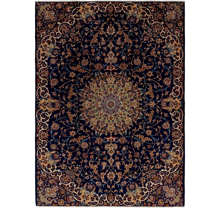 HandKnotted 9' x 12' 2 Kashan Persian Rug