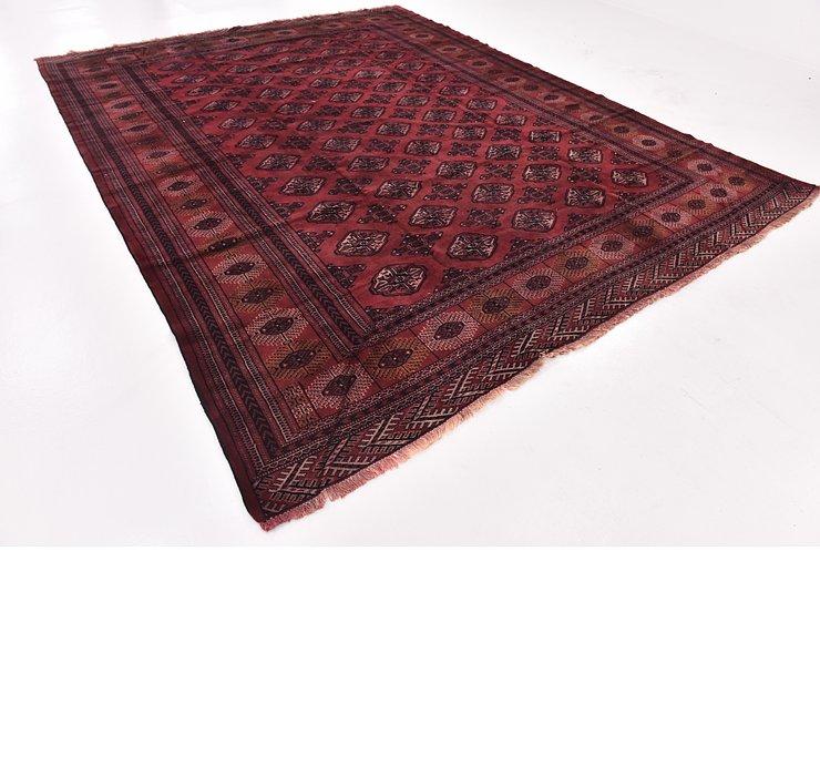 9' 7 x 12' 6 Torkaman Persian Rug