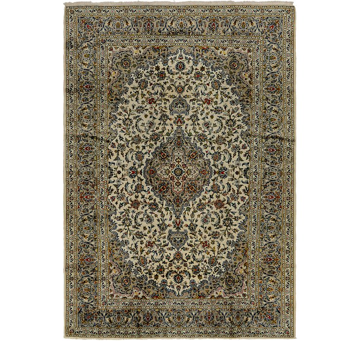 8' 3 x 11' 10 Kashan Persian Rug