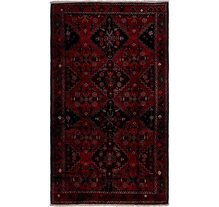 5' 6 x 9' 7 Shiraz Persian Rug