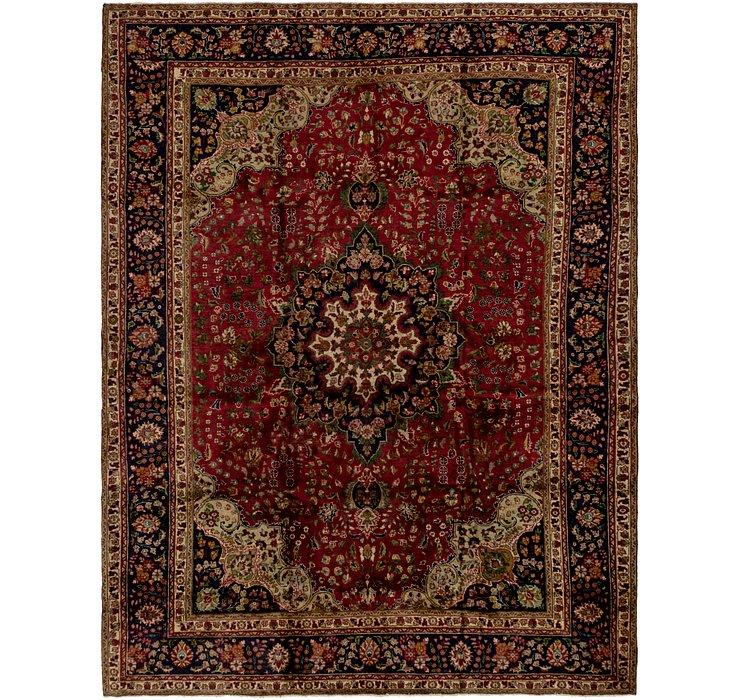 10' x 12' 10 Tabriz Persian Rug