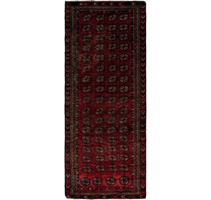 3' 6 x 9' 2 Shiraz Persian Runner Rug