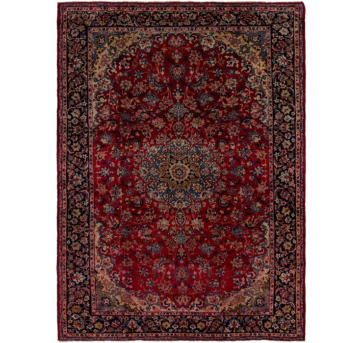 HandKnotted 9' x 12' 4 Isfahan Persian Rug