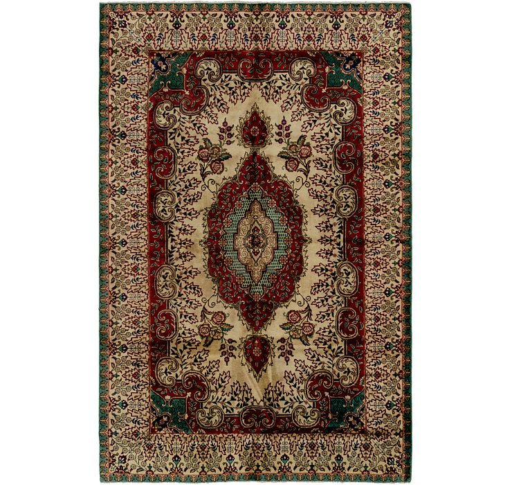 HandKnotted 6' 5 x 9' 10 Tabriz Persian Rug